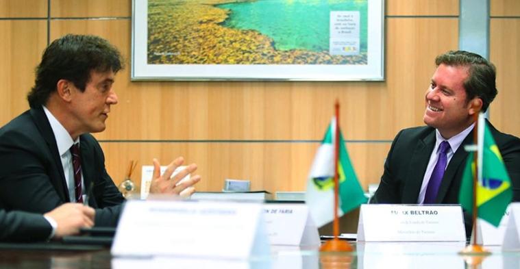 Resultado de imagem para Governador e ministro do Turismo visitam obras do Museu da Rampa e Centro de Convenções nesta sexta-feira